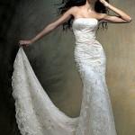 Produção de Noivas I: vestido e acessórios.
