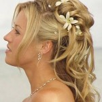 Penteados de noiva informal II: noivas diurnas e vespertinas.
