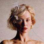 Penteados de noivas: cabelos curtos.