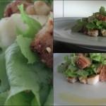 Sexta gourmet: salada de peras.