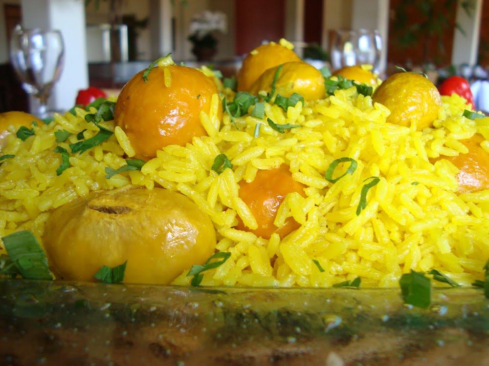 arroz com pequi gourmet