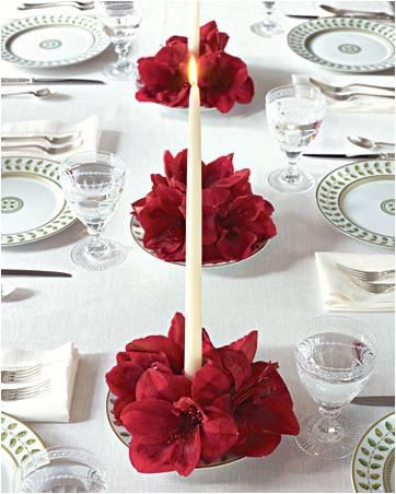 decoração-para-mesa-de-natal-mesa decorada de natal2