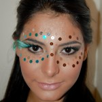Tutorial maquiagem para o carnaval.