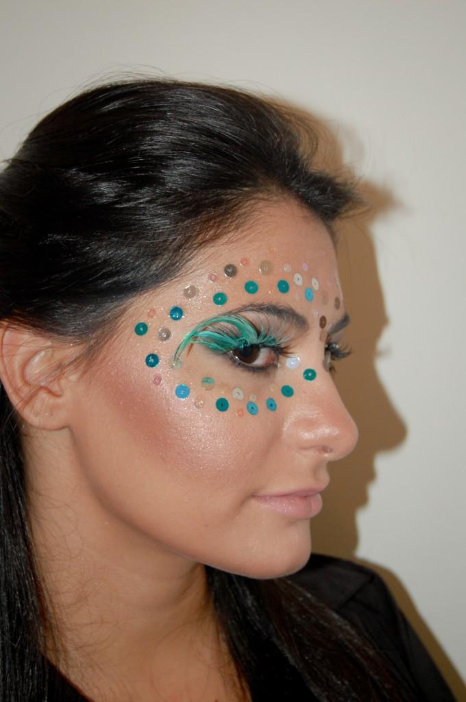 alessandra faria estilo e maquiagem barbara urias maquiagem para o carnaval 2013 paete