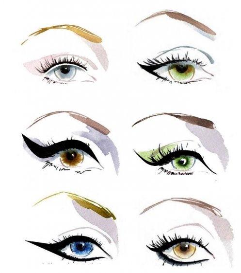 como-delinear-os-olhos-corretamente-tipos-de-traços-delineador