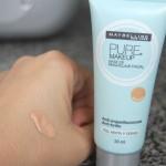 Eu testei: base Pure Makeup da Maybelline – resenha.