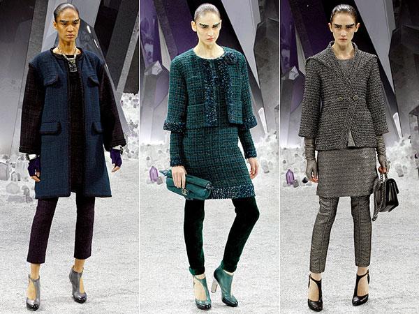 O que dizer dos casacos de tweed da Chanel a não ser: desejo total e absoluto!