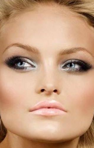 dicas de maquiagem: sombra prata e preta
