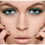 Dicas de maquiagem: como usar delineadores coloridos.