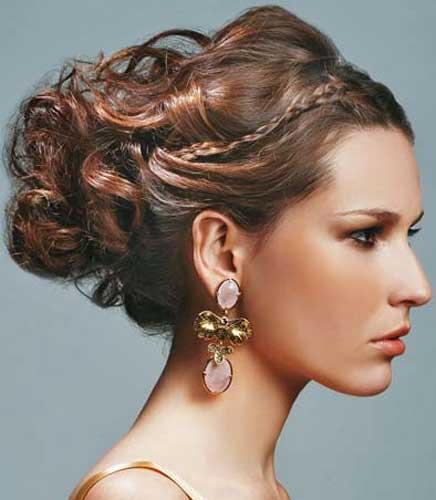 Penteados para cabelos curtos festa de gala