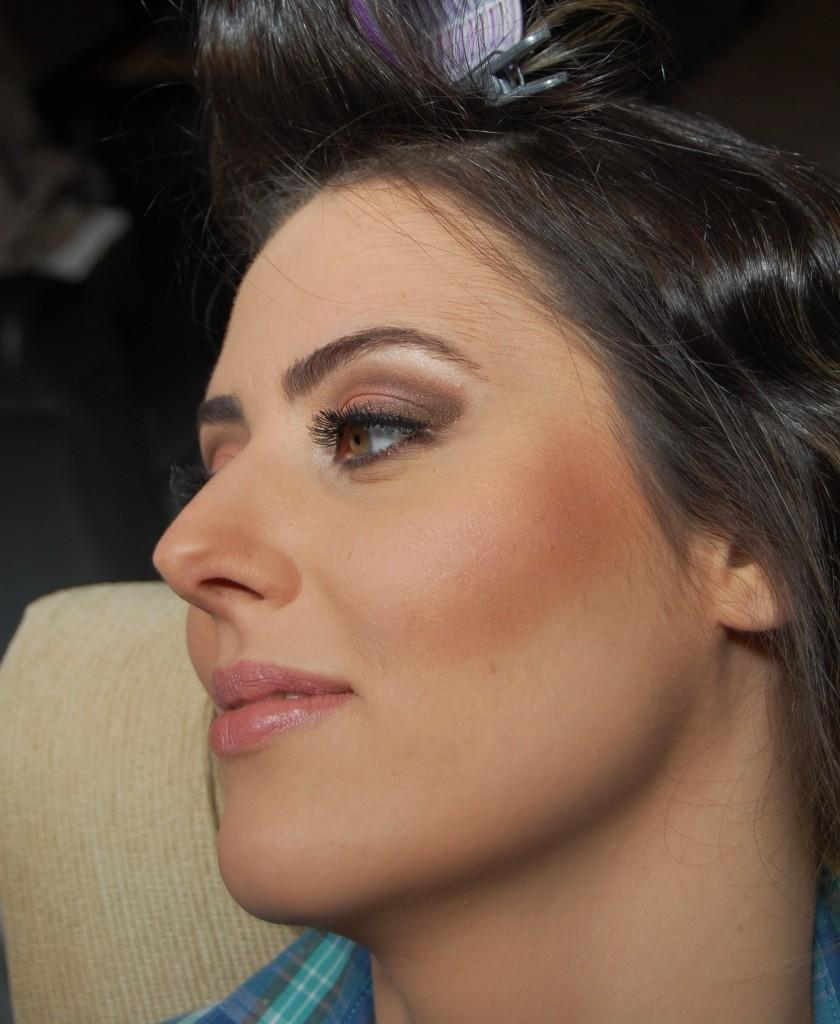 maquiagem de noivas diurnas