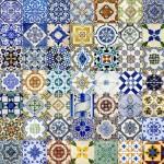 Tendência: estampa de porcelana chinesa e azulejo português.