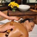Benefícios da estética corporal: bambuterapia.