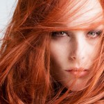 Tendência verão 2014: cabelos ruivos e castanhos.