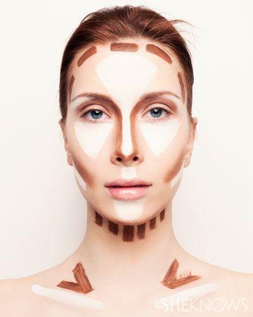 dicas de maquiagem jogo de luz e sombra