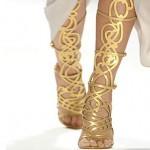 Para se inspirar: sandálias gladiadoras.