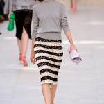 Circuito europeu de semanas de moda: Londres, Milão e Paris.