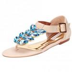 Tendência verão 2014 para se inspirar: sapatos com pedraria!