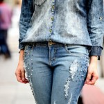 Para se inspirar: look 100% jeans, all denim!