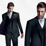 Moda masculina: o poder do terno clássico.