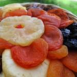Dicas de saúde e nutrição: os benefícios das frutas desidratadas!