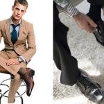Moda masculina: não pise na bola, acerte na meia!