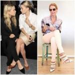 A mule retorna dos anos 90 e promete ser forte tendência em sapatos femininos.