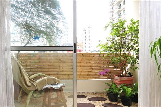 jardim em terraco pequeno jardim vertical ! Mas, o jardim tradicional
