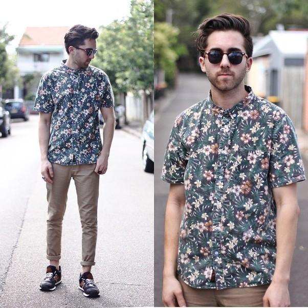 moda-masculina-floral-print-para-homens