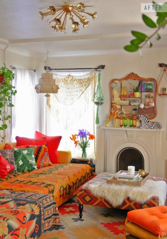 Decoracao Sala Hippie ~ Assim como na imagem pessoal, misture até 3 estilos na decoração de