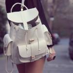 Para se inspirar: bolsa mochila!