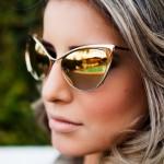 Acessório tendência verão 2015: óculos espelhados!!!