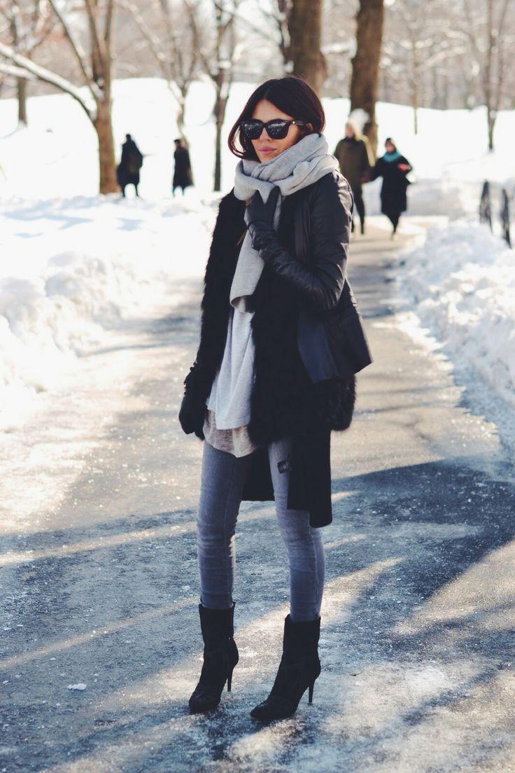 Looks para viagem para nova york em janeiro alessandra Fashion solitaire winter style