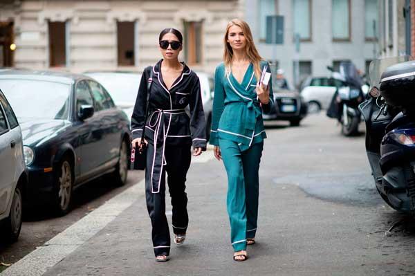 como-usar-pijama-na-moda-de-rua-street-style 11