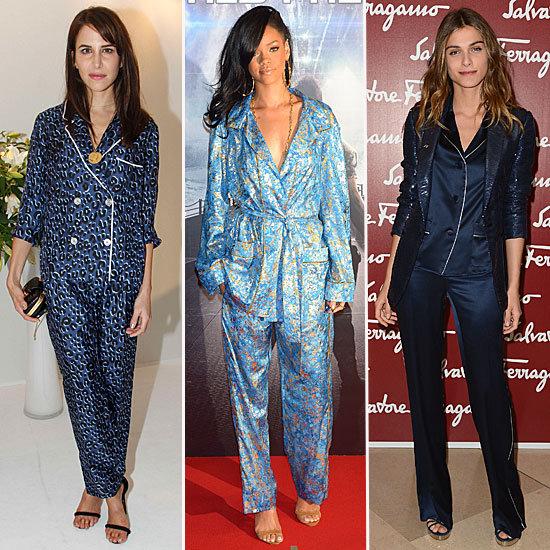 como-usar-pijama-na-moda-de-rua-street-style 9