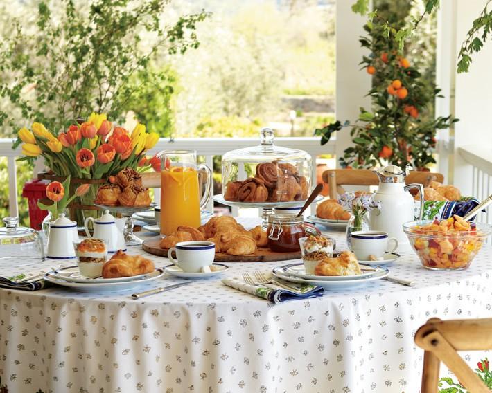 Para se inspirar decora o de mesa de caf da manh for Mesas para cafeteria
