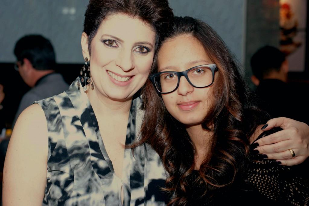 Mãe e filha Alessandra