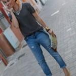 Calças que amamos: jeans boyfriend rasgados!