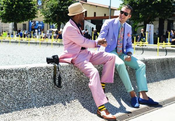 moda-masculina-rosa-para-homens 2