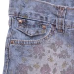 A moda que volta: Jeans estampados!