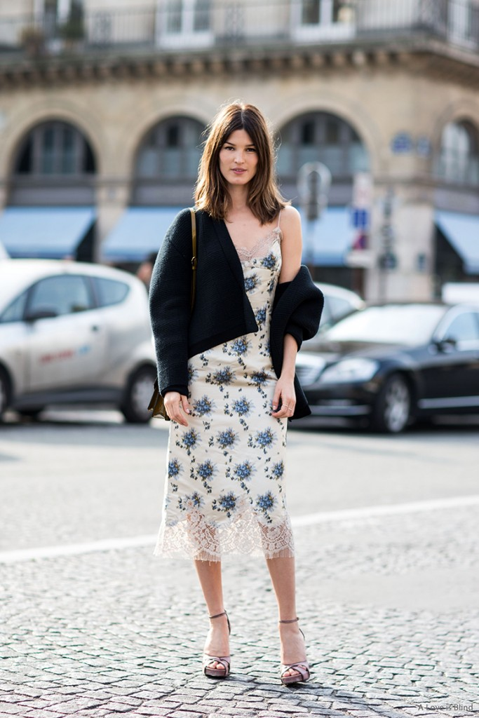 Paris Fashionweek ss2014 day 7, outside Carré du Louvre, Louis Vuitton, Hanneli