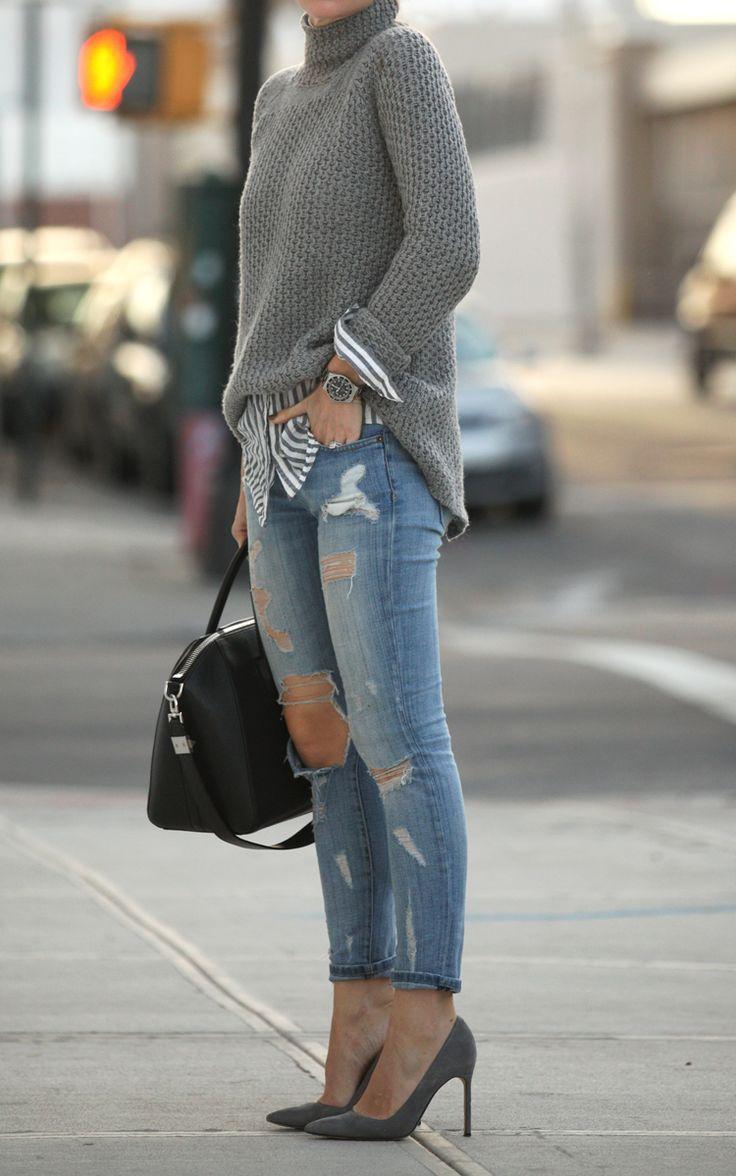 5_formas_de_usar_jeans_destroyed_no_inverno_com_tricô 5