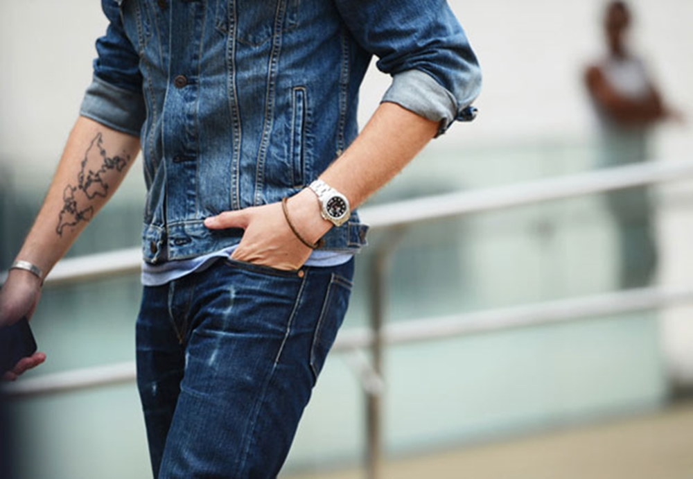 Moda masculina: all jeans for then!
