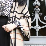 Animal print + chess print, daring fashion mix!