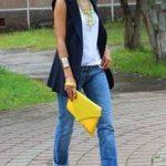Jeans e camiseta para se inspirar!