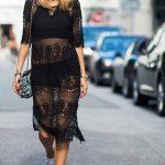 Transparência na moda de rua!