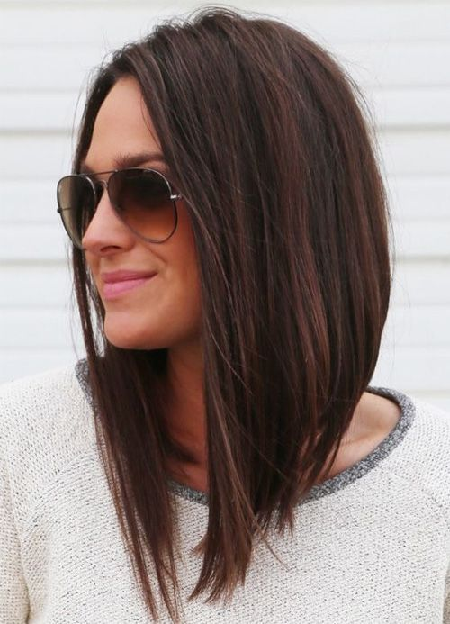 Haircut 3 Trends Summer 2018 Blunt Cut A Line Amp Longo