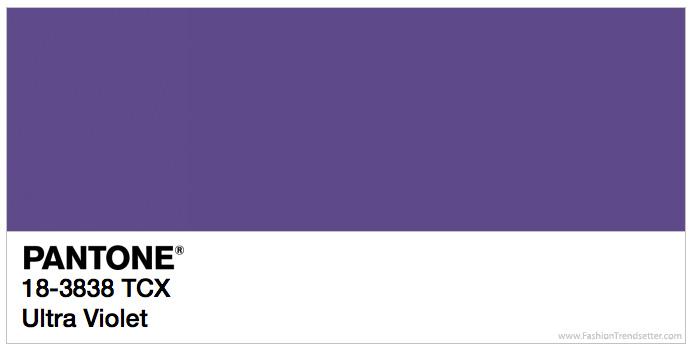 Cor Do Ano 2018 Por Pantone Ultra Violet Alessandra