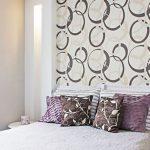 Cabeceira cama com papel de parede: para se inspirar!