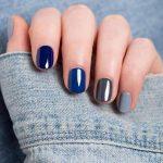 Unha multi colorida e unha de gelatina: nail trend!